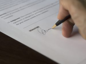 Echtscheidingsconvenant / convenant