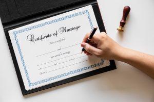 huwelijksakte